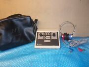 Maico Ma 25 Portable Audiometer Hearing Testing Tester No Ac Adapter