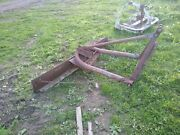 Scrape Blade 6 Ft, 3 Point Hitch, 20 -40 Hp Tractor Ford