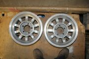 Western Bullet Mag Wheels 14x7 Chevy Ford Mopar 5 On 4-1/2 And 4 3/4