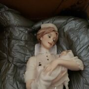Guiseppe Armani Florence Figurine L'infermiera The Nurse Made In Italy Orig Box
