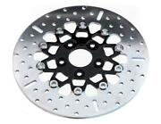 Ebc Rsd020blk 10 Button Floater Wide Band Brake Rotor - Black