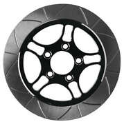 Lyndall Racing Brakes 737-0227 Smooth Triang Racing Rotor - 11,8in. - Chrome