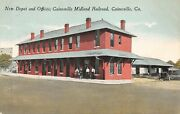 Gageorgiagainesvillenew Depot And Offices Gainesville Midland Railroadearly