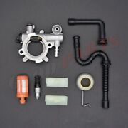 Oil Pump Oiler Worm Gear Kit For Stihl Ms360 036 Ms 360 Pro Chainsaw Line Filter