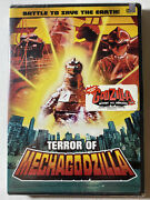 Terror Of Mechagodzilla - Battle To Save The Earth Dvd - New And Sealed Free Ship