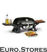 Klarstein Bbq Gas Grill Barbecue Camping Table Grill 4.4 Kw Stainless Steel New