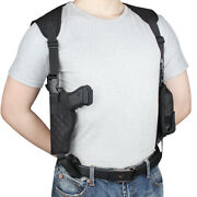 Concealed Shoulder Holster Fits Springfield Armory Xdm40,1911,xd9,xd40,xd45,more