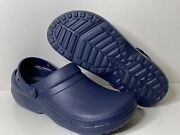 Crocs Menand039s Shoes Specialist Ii Closed Toe Slip On Slippers Navy Size 11