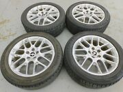 2012 Ford Mustang V6 Rim And Tire Set Oem