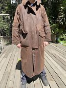 Outback Trading Company 2052 Duster Xxl Drover Riding Oilskin Wax Coat