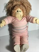 1984 Vintage Soft Sculpture Cabbage Patch Kid Doll Hand Signed Xavier Roberts 🔥