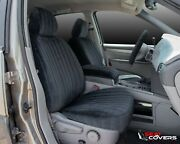 Custom Fit Vel-quilt Front Seat Covers For The 2007-2013 Jeep Wrangler