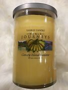 Yankee Candle Canary Island Banana 20oz Large 2 Wick Highly Sought After Scent