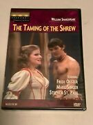 Shakespeare The Taming Of The Shrew Dvd Broadway Theatre Archive New Marc Singer