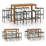 Patio Bar Bistro Set Outdoor Furniture Table Chairs Dining Garden Pool Stool