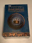 The Dramatic Works Of William Shakespeare Bbc Dvd, 2004, 5-disc Set New Sealed