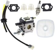 Carburetor For 2cycle Mantis Tiller/cultivator Carb Air Filter Repower Free Ship