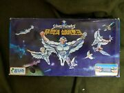 Rare 1988 Vintage Silverhawks Korea Board Game Pin Ball Marble Toy Us Animation