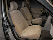 Custom Fit Vel-quilt Front Seat Covers For The 1999-2002 Chevy Silverado Buckets