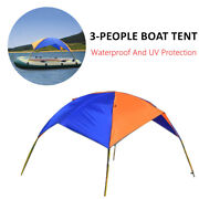 Dual-use Boat Canoeing Visor Awning Top Cover Shade Shelter Fishing Canopy Tent