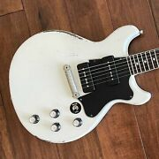 Rock N Roll Relics Thunders Ii Dc Electric Guitar Aged White 211124