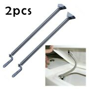 2 X Stainless Steel Boat Hatch Support Spring For Lid Door Cover Window-adjuster