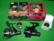 Shimano Nexave 2500 And Dam Quick Finessa 2 Rear Drag Reels And Spare Spools
