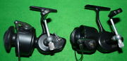 2 Garcia Mitchell 206 Vintage Spinning Reels For Collector User Outlet