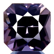 1.80ct Flawless 100 Natural Best Lilac Gray Spinel Radiant Awesome Dazzling Gem