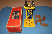 Scarce Yellow Lionel 395 Floodlight Tower With Original Box And Insert. Working