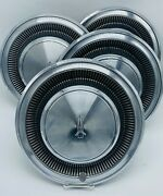 Vintage Nos Plymoth Dodge Chrysler 15 Hubcaps Set Of 4 Hub Caps 60and039s