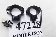 Redfield Steel 1 In High Matte Rings 47228 For Matte Or Parkerized Rifles/scopes