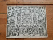 Redington Pollockand039s Toy Theatre Large Sheet Scene The Corsican Brothers