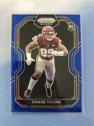 2020 Chronicles Prizm Black Chase Young Rc Blue /25 Washington Ohio State Ssp