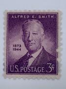 Vintage Stamp💎1945 💎3 Cent Alfred E. Smith 937 Perf 11x10.5💎