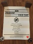 Non / Prurient / Cold Cave Show Poster Rare Boyd Rice