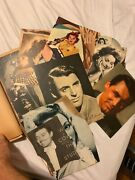 Amazing Vintage Scrapbook Filled With Photo Clippings Of Celebrities 1930and039s-50s