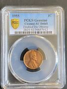 1955 Doubled Die Obverse Lincoln Cent 1c Ddo -certified Pcgs Almost Uncirculated