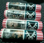 4 2009 Lincoln P Professional Life First Day Penny Cent Rolls W Lincoln Stamps