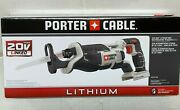 Porter Cable 20v Max Pcc670b Lithium Reciprocating Saw Tool Only New In Box
