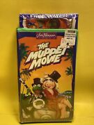 Jim Henson The Muppet Movie Vhs Vintage New Sealed 1993 With Novelty Watch.