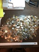 Sasa 10 Pound Lot Of Foreign Coinage. 1800 To Present Silver Possible