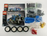 Lego Technic 8435 4wd Tow Truck/off-road 2 Sets In 1 - Complete Parts No Box