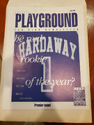 Anfernee Hardaway Premier Edition Fan Club News Letter Pennyand039s Playground