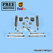 6 Basic Syst W/ Ss Shocks Fabtech For Ford F550 4wd 10 Lug Chassis Cab 11-13