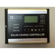 Zamp Solar Zs-40a 40a Digital Deluxe Solar Charge Controller