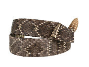 1.25 Real Rattlesnake Hat Band With Rattle 598-hb202d 9uc17