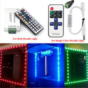 Us 10500ft 5050 Smd 3 Led Module Store Front Window Sign Strip Light Or Remote