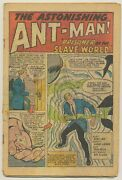 Tales To Astonish 41 Coverless Ant-man Ditko Back Story