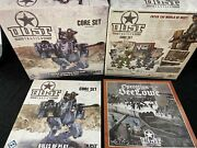 Dust Tactics Lot Painted Miniatures Core Set Sealowe Expansion And Much More